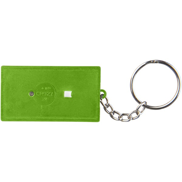 Cinema LED keychain light - Lime