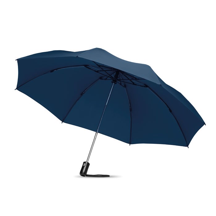 Foldable reversible umbrella Dundee Foldable - Blue