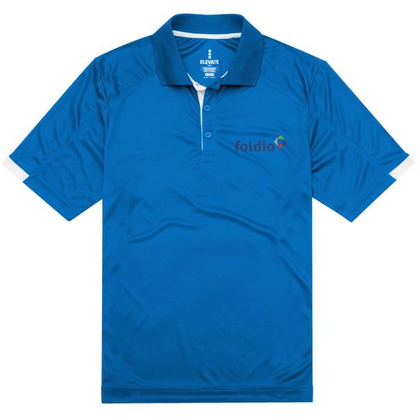 Kiso short sleeve men's cool fit polo - Blue / XXL
