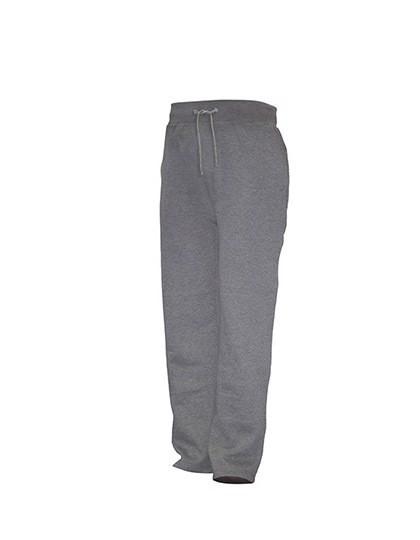 Men Sweat Pants - Grey Melange / L