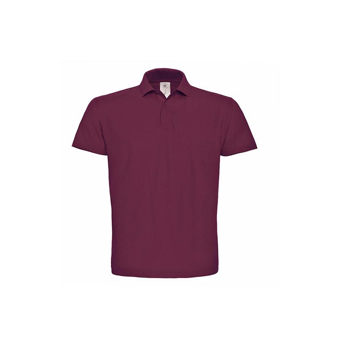 Men's Polo Shirt 180 g/m2 Pique Polo Shirt Id.001 Pui10 - Wine / XL
