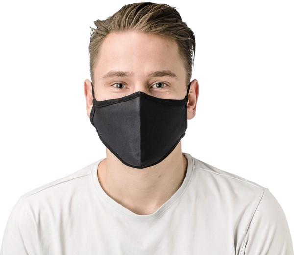 Cotton reusable face mask - Grey