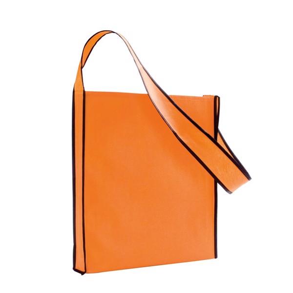 GERE. Τσάντα ώμου non-woven - Πορτοκάλι