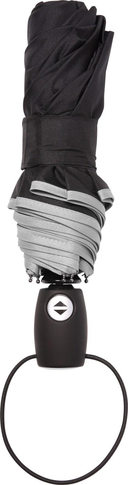 Pongee (190T) umbrella - Light Grey