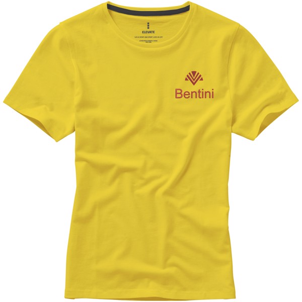 Nanaimo short sleeve women's T-shirt - Yellow / L