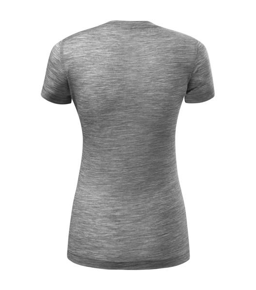 T-shirt women's Malfinipremium Merino Rise - Dark Gray Melange / XL
