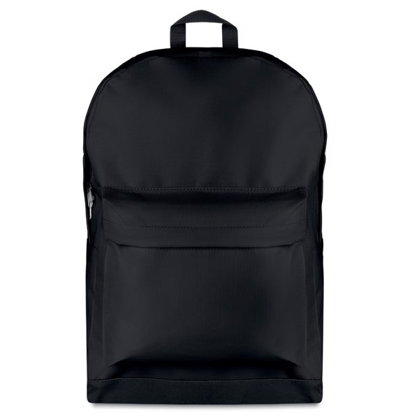 Backpack in 600D polyester Bapal Stripe - Black