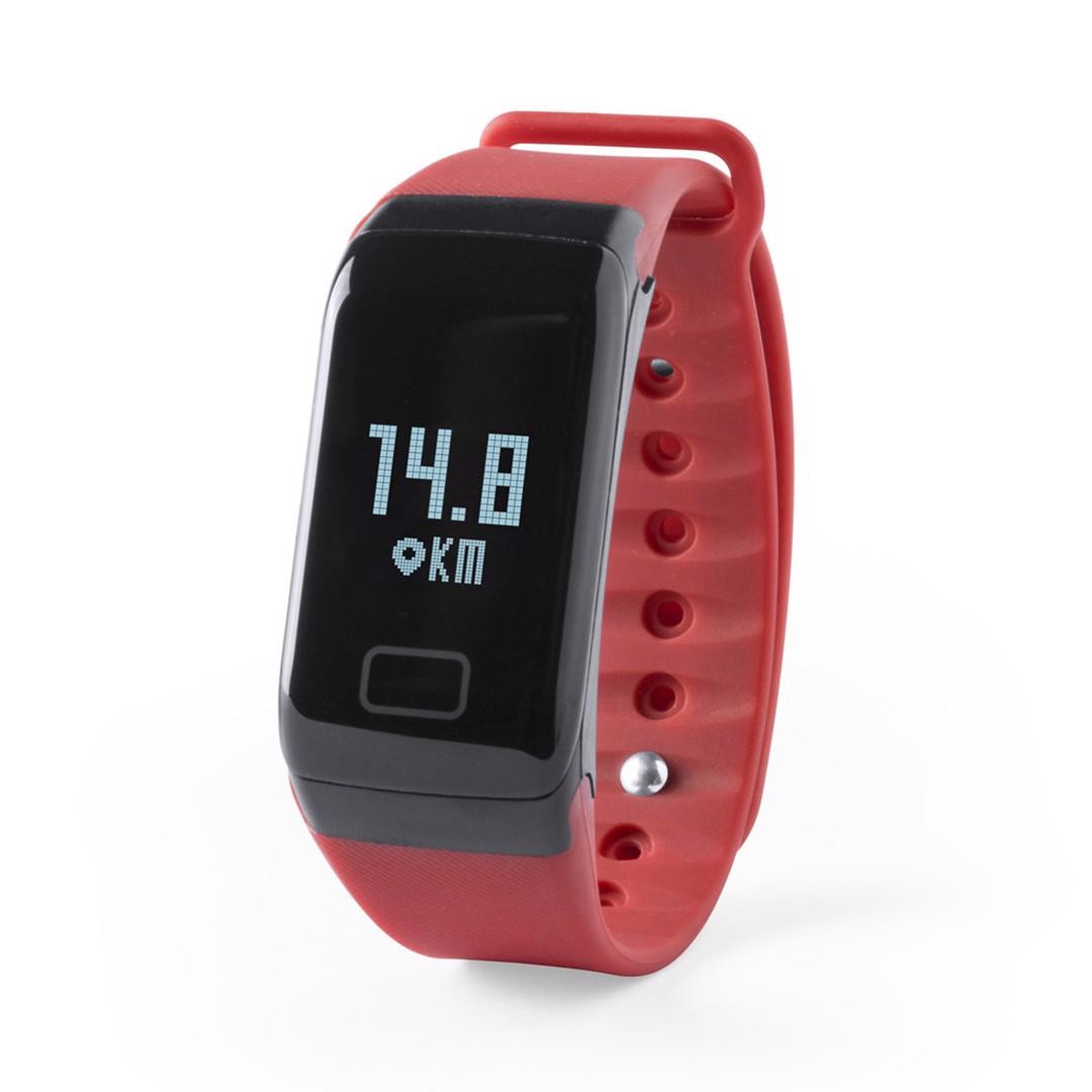Relógio Inteligente Shaul - Vermelho
