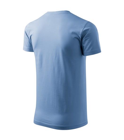 Tričko pánské Malfini Basic - Nebesky Modrá / 4XL