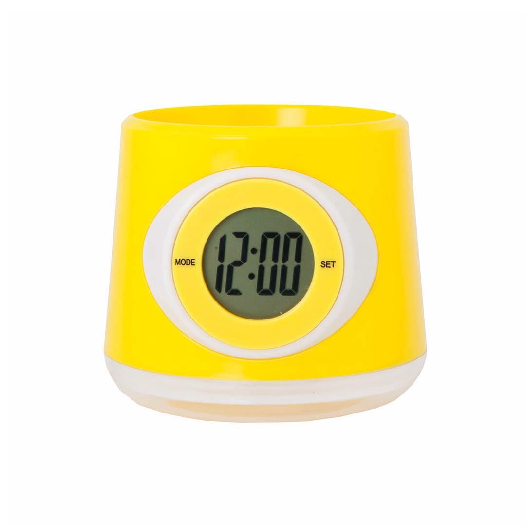 Reloj Macetero Zelmo - Amarillo