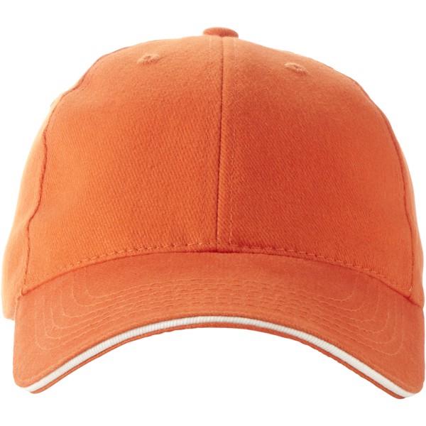 Challenge 6 panel sandwich cap - Orange