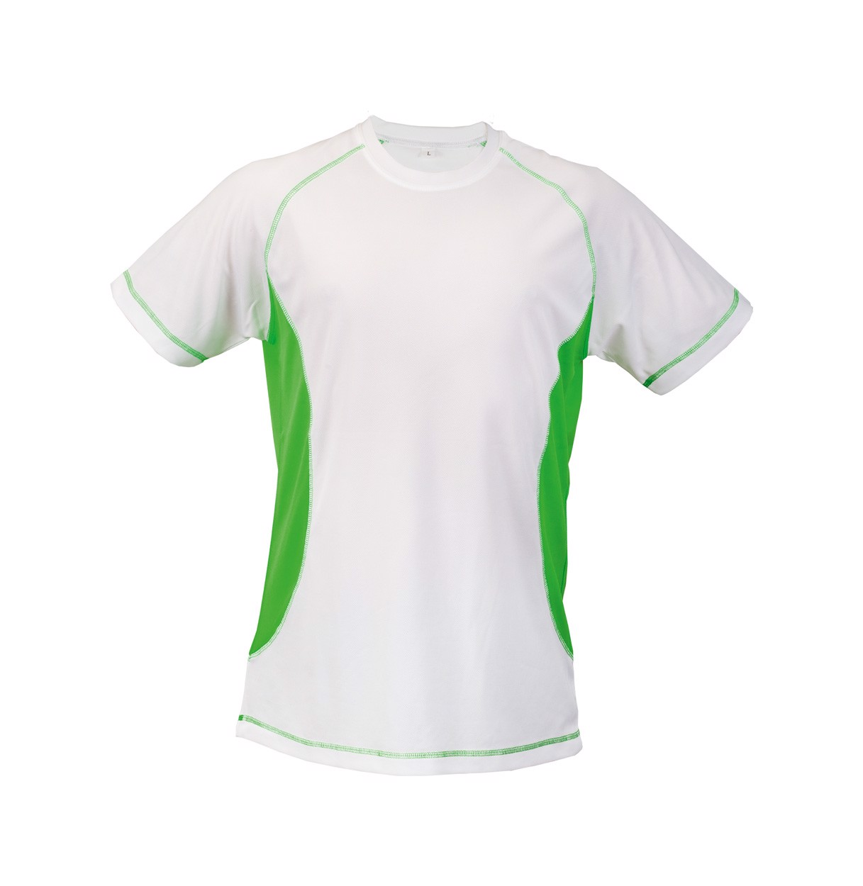Tričko Combi - Zelená / Bílá / XL