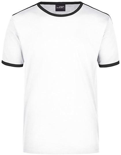 Men`S Flag-T - White / Black / S