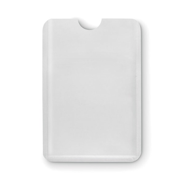 Plastic RFID data  protector Guardian - White