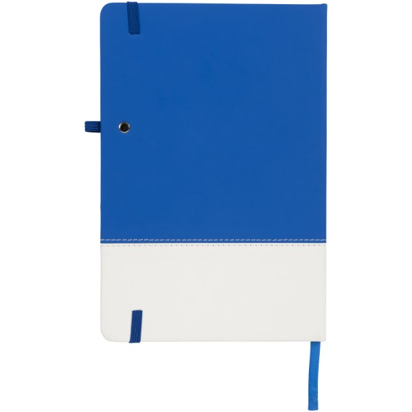 Two-tone A5 farbiges Notizbuch - Blau