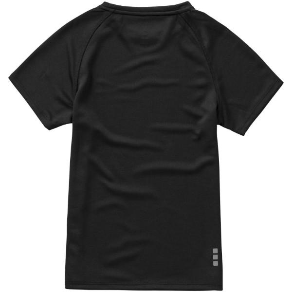 Niagara short sleeve kids cool fit t-shirt - Solid Black / 116