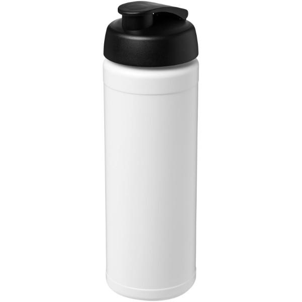 Baseline® Plus 750 ml Flasche mit Klappdeckel - Weiss / Schwarz