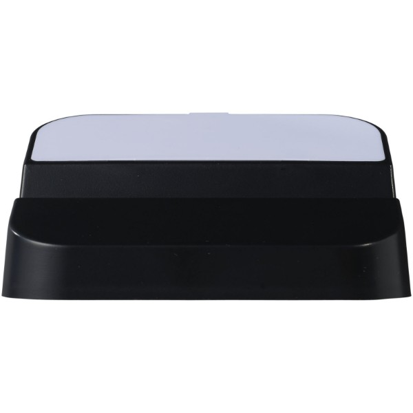 Hopper 3-in-1 USB hub and phone stand - Solid black