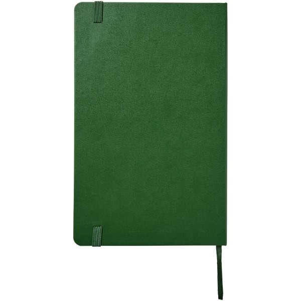 Classic L hard cover notebook - ruled - Myrtle green