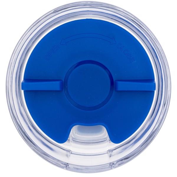 """Vaso de 470 ml con aislamiento de cobre al vacío """"Twist"""" - Azul"""