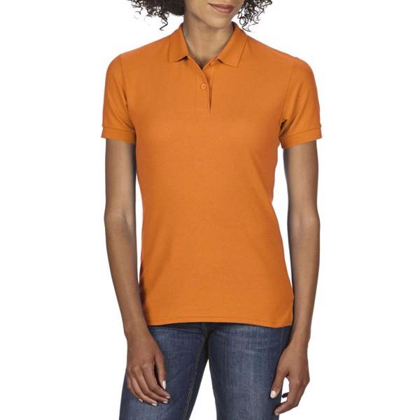 Damska Koszulka polo 207 g/m Dryblend Ladies Pique 75800L - Safety Naranja / L