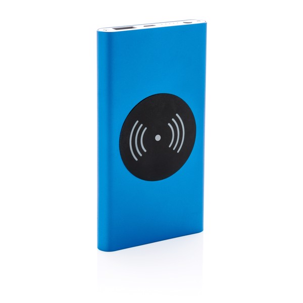 Bezdrátová powerbanka 4 000 mAh 5W - Modrá