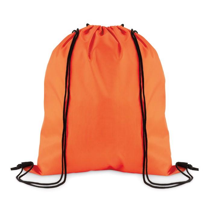 Stahovací batoh z polyesteru Simple Shoop - orange