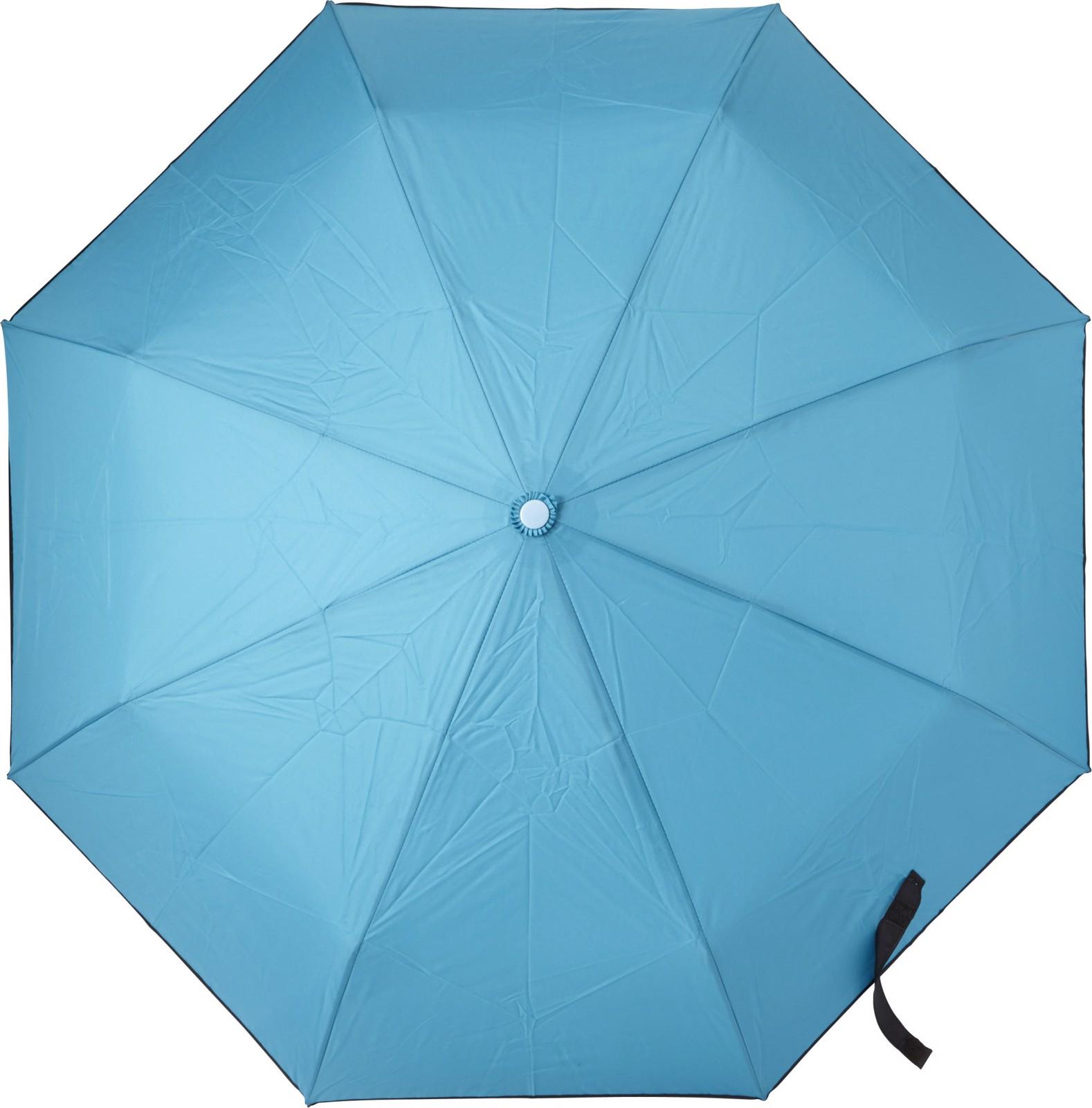 Pongee umbrella - Light Blue