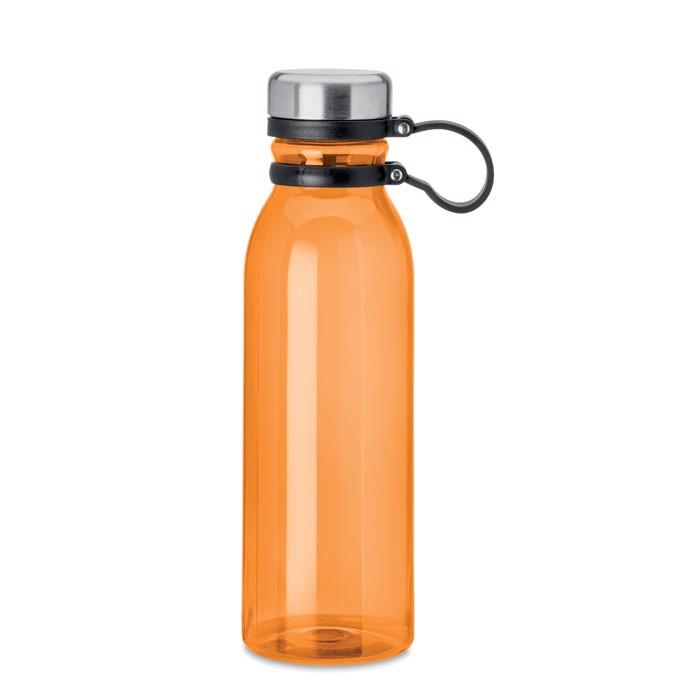 Botella de RPET 780 ml. Iceland Rpet - naranja transparente