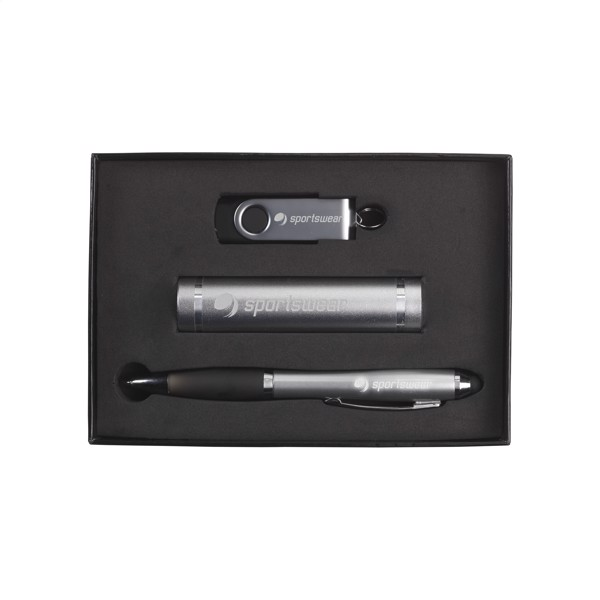 PowerBox 2 giftset - Silver / 4Gb