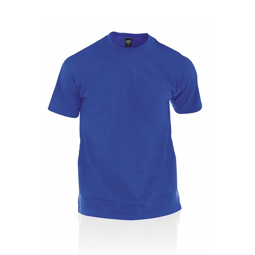 Camiseta Adulto Color Premium - Azul Royal / XXL