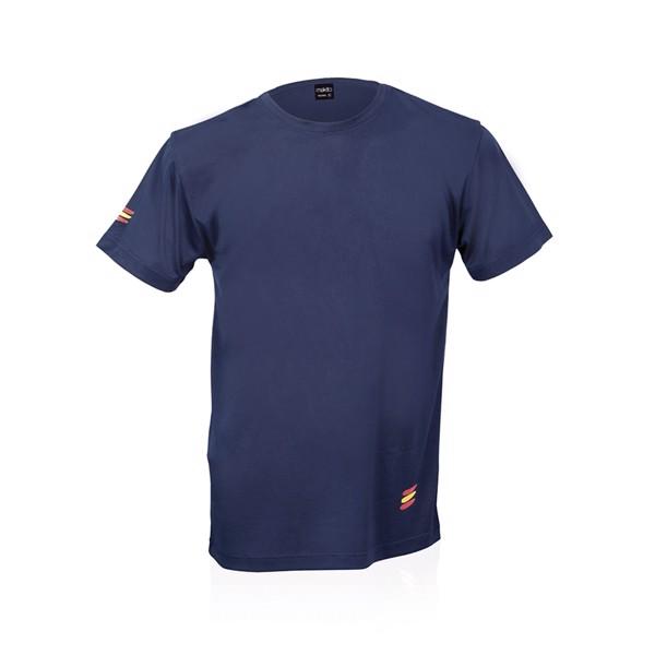 Camiseta Adulto Tecnic Bandera - Negro / L