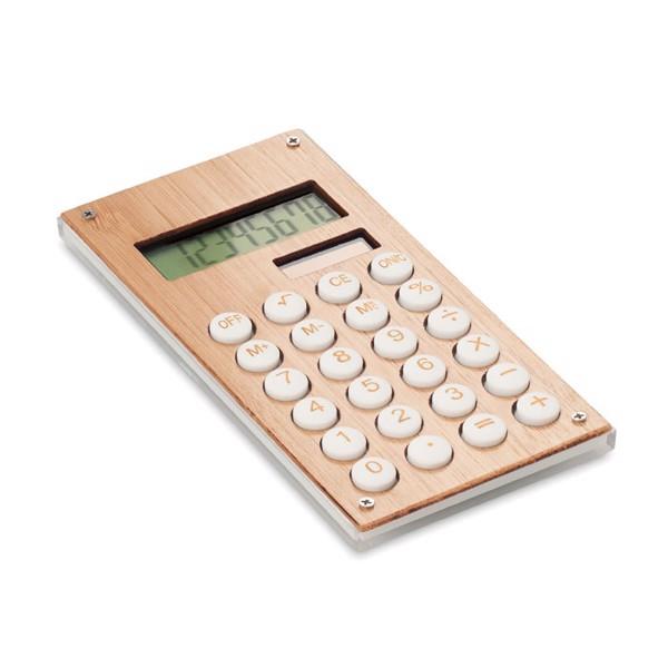 8mi místná bambus. kalkulačka Calcubam