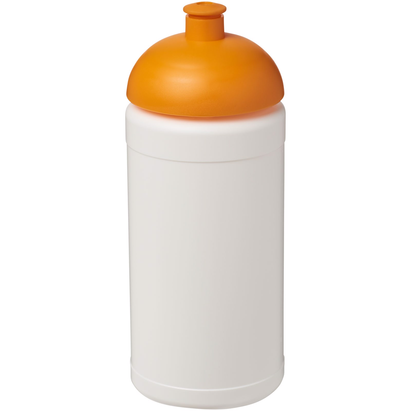 Baseline® Plus 500 ml dome lid sport bottle - White / Orange