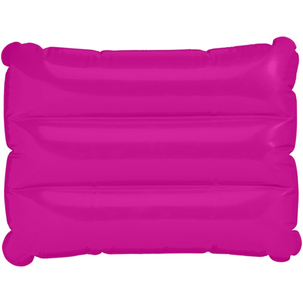 Wave inflatable pillow - Magenta