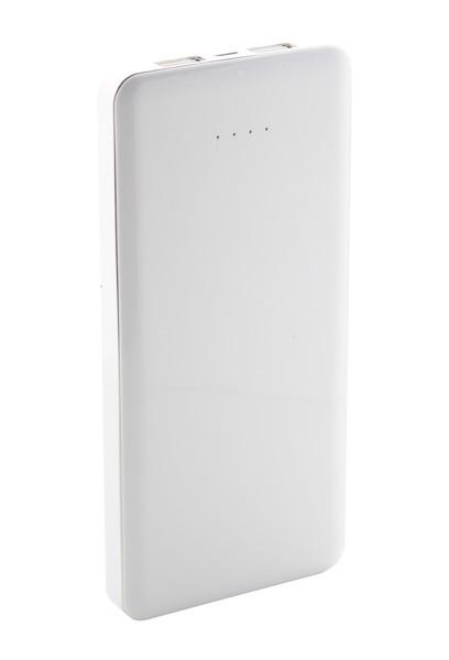 USB polnilnik in polnilna baterija Atazzi - bel/črn