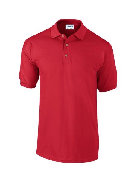 Polokošile Pique Ultra Cotton - Červená / XXL