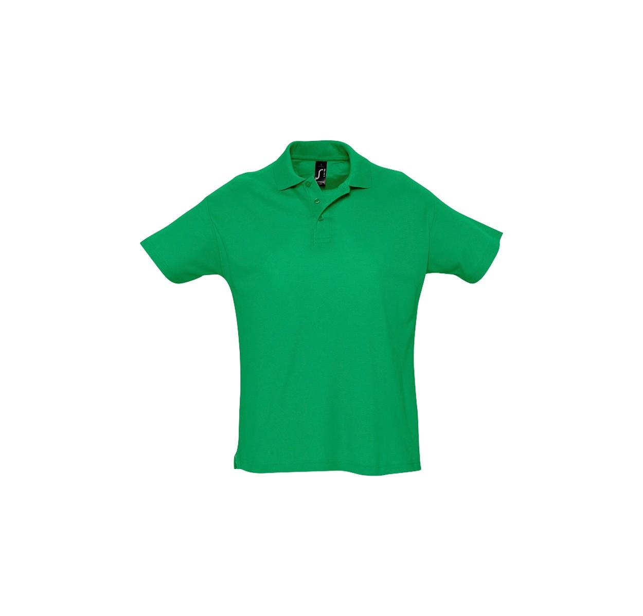 Polokošile Pique Summer II - Zelená / XL