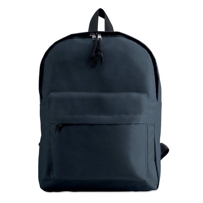 Plecak z zewnętrzną kieszenią Bapal - granatowy