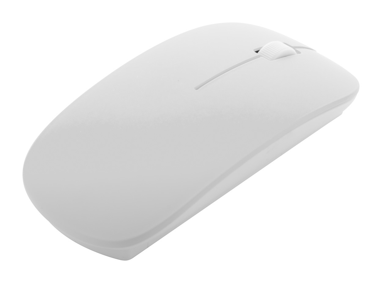 Optical Mouse Lyster - White / White