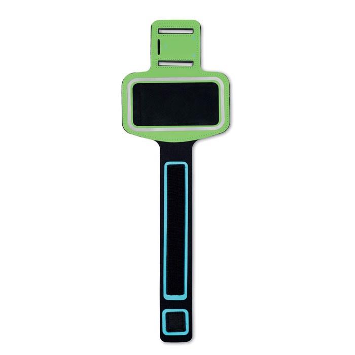 Neoprene armband pouch Armphone - Lime