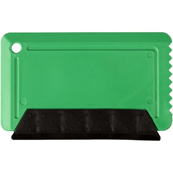 Škrabka na led s pryží Freeze o velikosti platební karty - Zelená