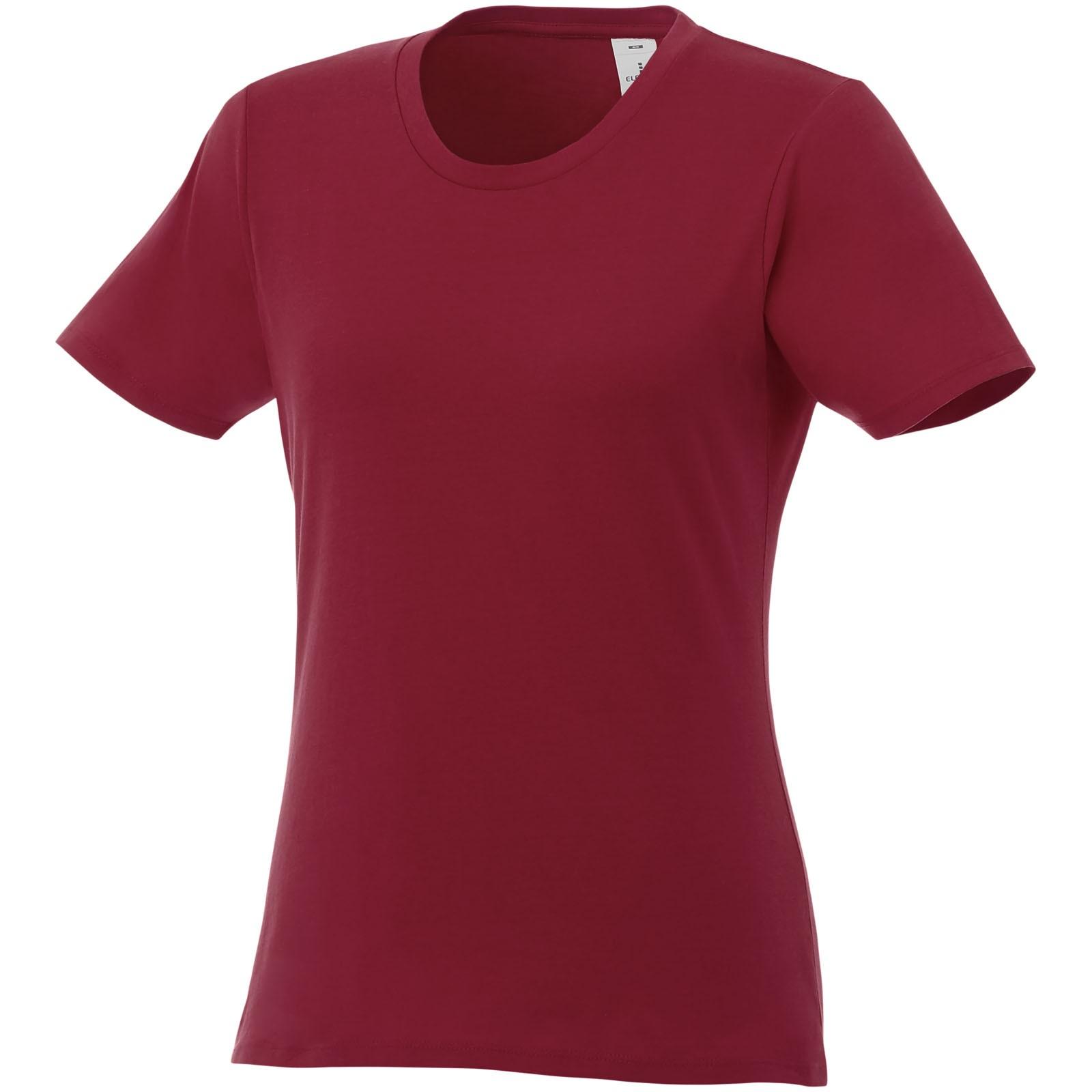 Heros short sleeve women's t-shirt - Burgundy / S