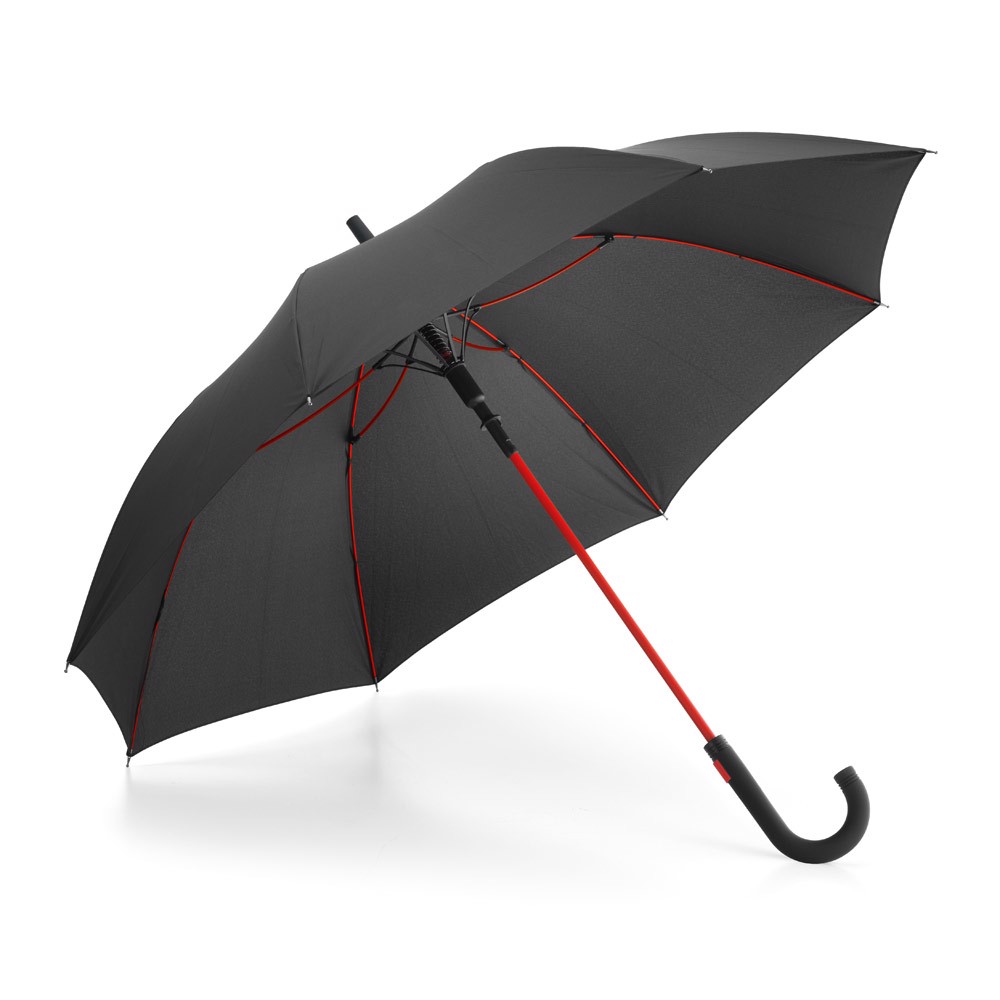 ALBERTA. Umbrella with automatic opening - Red