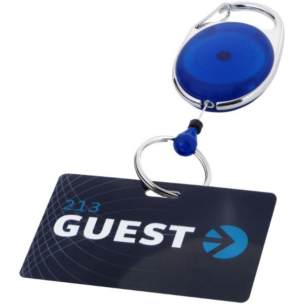 Klíčenka Gerlos s držákem na jmenovku - Modrá