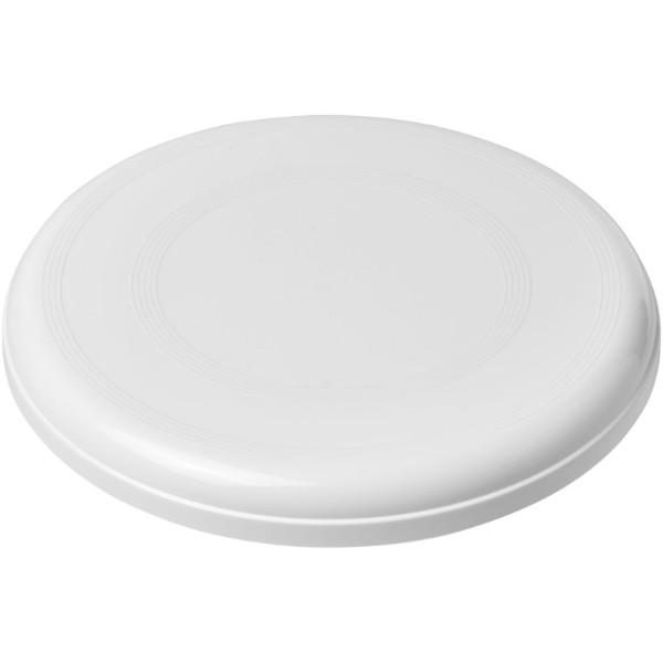 Max plastic dog frisbee - White