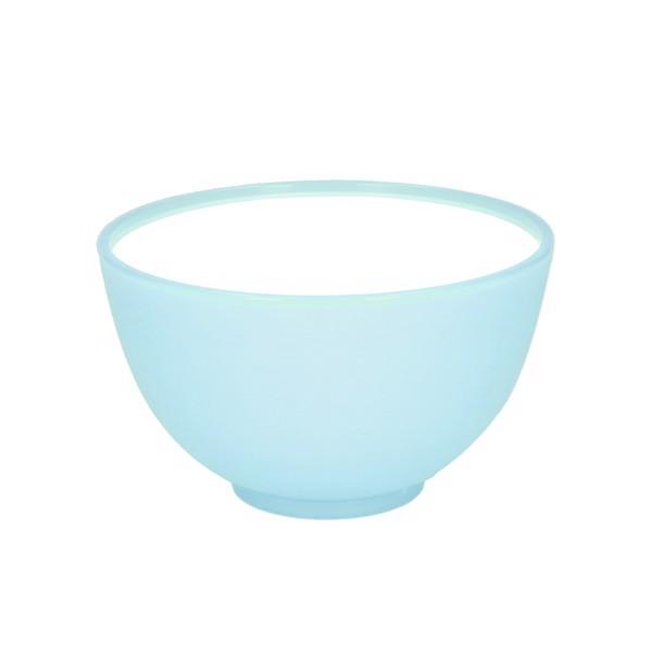"""Muesli Bowl """"2-Colour"""" Frozen - Lightblue-Transp. / White"""