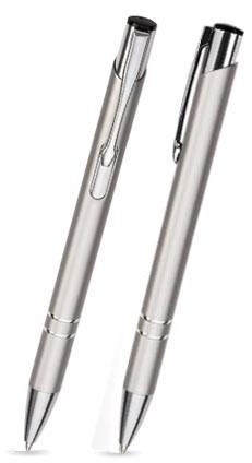 Kovová propiska COSMO - Stříbrná
