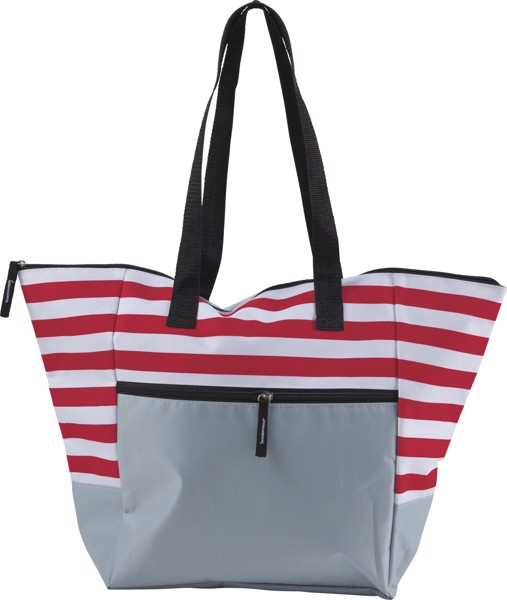 Polyester (600D) beach bag - Red