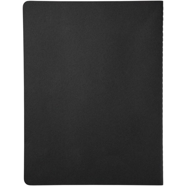 Cahier Journal XL - squared - Solid black
